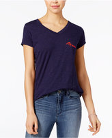 Maison Jules Oh La La Embroidered T-Shirt, Only at Macy's