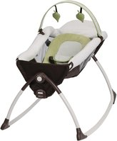 Graco Little Lounger Rocking Seat & Vibrating Lounger - Go Green