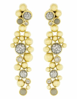 Todd Reed Cabochon Diamond Earrings