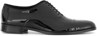 Emporio Armani Patent Oxford Shoes