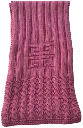 Givenchy Pink Cashmere Scarves