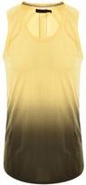 Religion Gradient Vest T Shirt Yellow