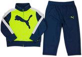 Puma Boys 4-7 Big Cat Logo Tricot Track Jacket & Pants Set