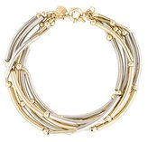 Giles & Brother Two-Tone Choker Necklace