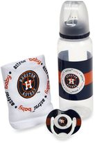 Baby Fanatic MLB Houston Astros Baby Essentials Gift Set