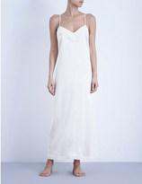 La Perla Silk essence long stretch-silk nightgown