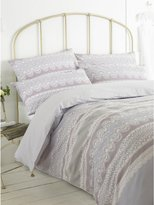 M&Co Lace band print duvet set