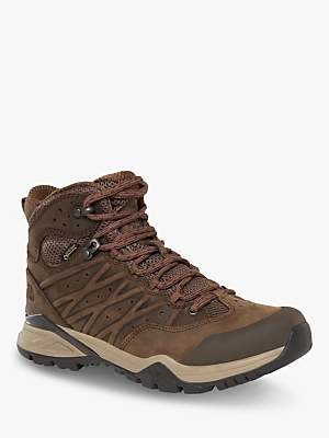 The North Face Hedgehog Hike II Mid Women's Waterproof Gore-Tex Hiking Boots, Bipartisan Brown/Pamplona Purple