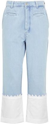 Loewe Fisherman light blue straight-leg jeans