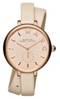Marc by Marc Jacobs Marc Jacobs Women's Sally Grey Leather Watch - MJ1418