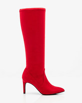 Le Château Pointy Toe Knee-High Stretch Boot