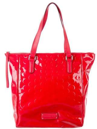 Marc by Marc Jacobs Embossed Patent Leather Tote