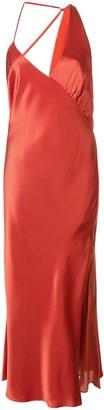 Mason by Michelle Mason Gathered Slip Dress