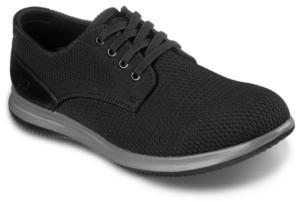 Skechers Men's Darlow Velogo Oxford Casual Sneakers from Finish Line