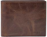 Fossil Derrick Large Coin Pocket Bifold Wallet, Dark Brown