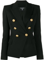 Balmain structured decorative button jacket