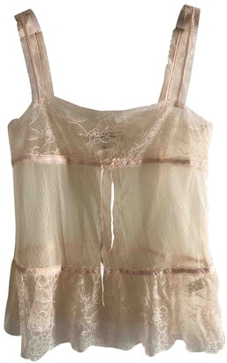 Abercrombie & Fitch Pink Lace Top for Women