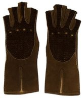 Hermes Suede Gloves