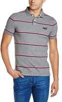 Superdry Men's Echo Beach Yd Stripe Polo Shirt