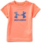 Under Armour Baby Girls 12-24 Months Big Logo Short-Sleeve Graphic Tee