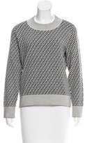 Tanya Taylor Printed Wool Sweater