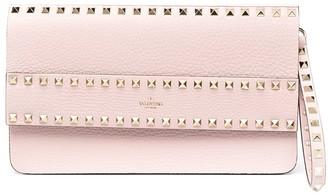Valentino Stud-Embellishment Clutch Bag