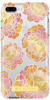 Trina Turk Translucent Apple Phone Case - Pink/Orange - iPhone 6 Plus/6S Plus/7 Plus/8 Plus
