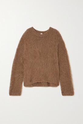 Totême Biella Alpaca-blend Sweater - Brown