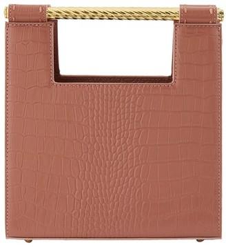 MEHRY MU Unicorn handbag in embossed leather