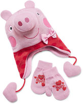 Asstd National Brand Girls Peppa Pig Cold Weather Set-Preschool