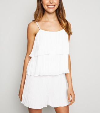 New Look Pleated Tiered Cami