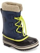 Sorel 'Yoot Pac' Waterproof Snow Boot (Toddler, Little Kid & Big Kid)