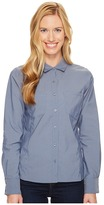 The North Face Long Sleeve Sunblocker Shirt ) Women's Long Sleeve Button Up