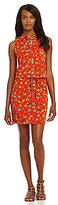Vince Camuto TWO By Floral-Print Halter Dress