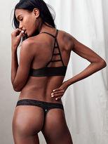 Cotton Lingerie Lace-waist Thong Panty