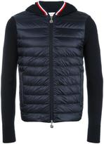 Moncler knitted sleeve hoodie