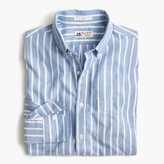 J.Crew Slim Thomas Mason® for shirt in brushed striped oxford
