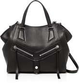 Botkier Trigger Angled Leather Satchel