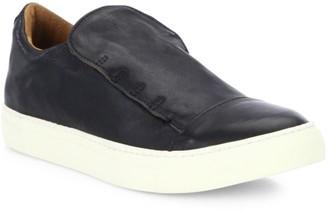 John Varvatos Reed Laceless Calfskin Low Sneakers