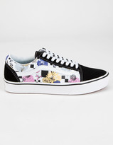 Vans x Tillys ComfyCush Old Skool Wildflower Womens Shoes