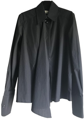Lemaire Black Cotton Top for Women
