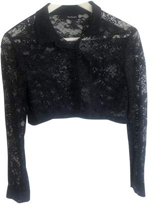 The Kooples Black Lace Top for Women