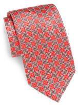 Burma Bibas Square Medallion Silk Tie