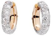 Pomellato Tango Earrings with Diamonds in 18K Rose Gold