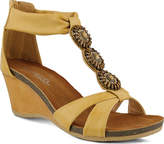 Patrizia Women's Daly Wedge Sandal - Beige Manmade Sandals