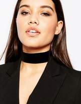 Asos NIGHT Velvet Choker Necklace