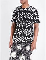 Junya Watanabe Loop-print Cotton T-shirt