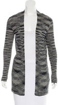 M Missoni Open Front Striped Cardigan