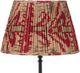 OKA 55cm Pleated Madura Silk Empire Lampshade