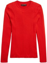 Banana Republic Ribbed Sweater Top